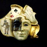 maschera libro arlecchino