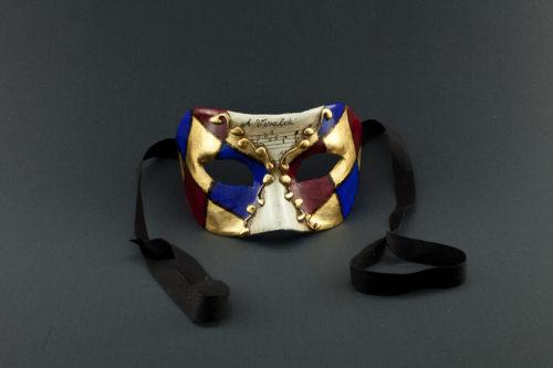 colombina blue rossa foglia oro e musica
