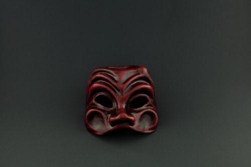 maschera arlecchino tinta pelle