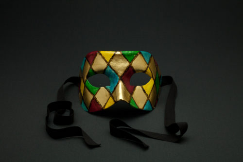 colombina oro arlecchino
