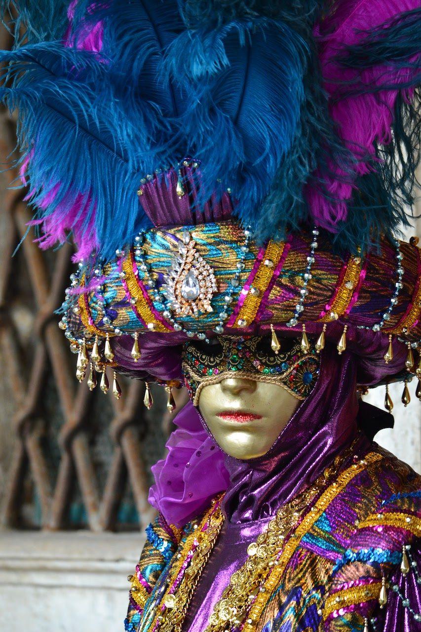 maschera con turbante