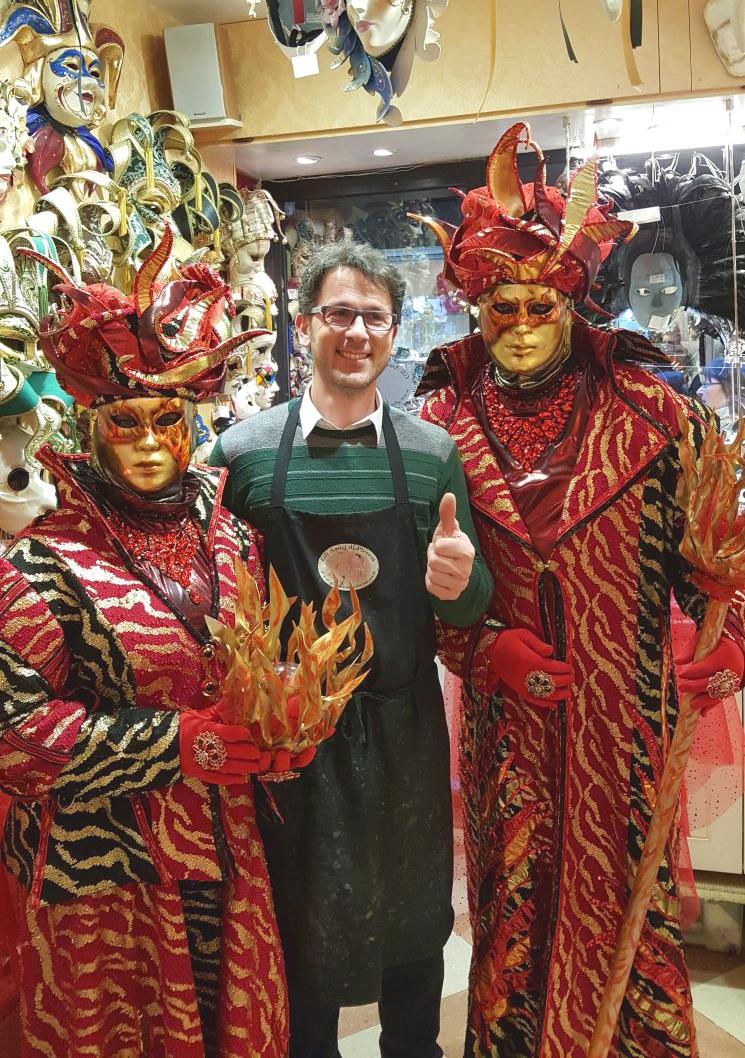 Maschere di carnevale veneziane