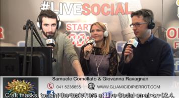 Maschere Veneziane: Intervista su Radio Venezia